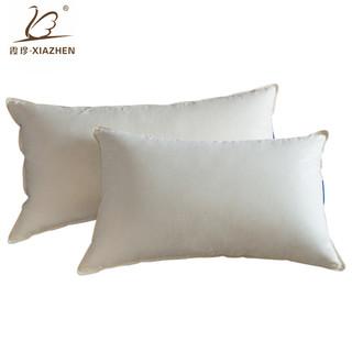 霞珍 70%白鹅绒枕头