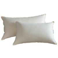 霞珍 香格里拉酒店同款 白鹅绒羽绒枕芯枕头 加长定制枕48*90cm