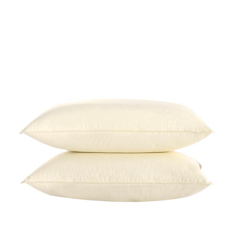 霞珍 45%白鹅绒全棉护颈枕头