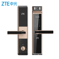 ZTE/中兴指纹锁防盗门锁家用别墅大门智能电子密码锁远程手机APP+凑单品