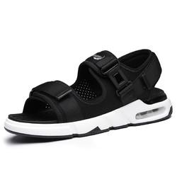 鳄鱼恤男士凉鞋男潮休闲鞋2018新款夏季凉拖沙滩鞋运动凉鞋