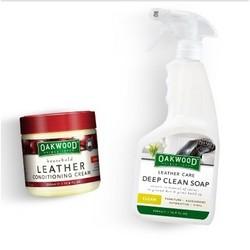 OAKWOOD 皮革护理膏 350ml+清洁剂 500ml