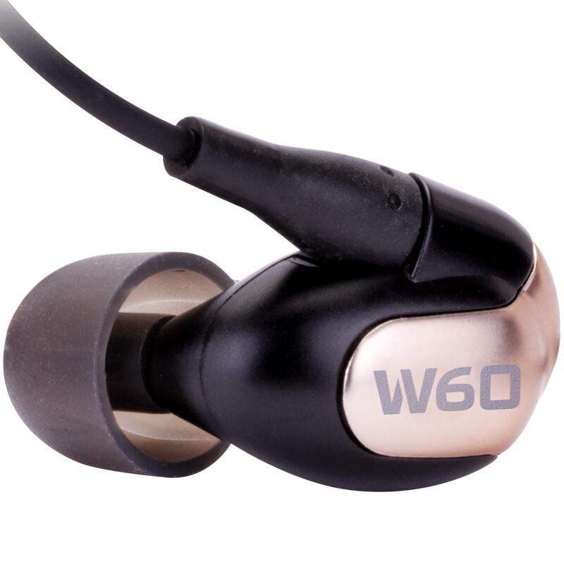 Westone 威士顿 W60 耳机 (动铁、入耳式) 黑色