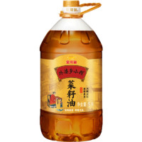 金龙鱼 外婆乡小榨菜籽油 5L*2