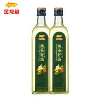 金龙鱼 油茶籽油 750ml*2瓶