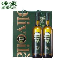 olivoilà 欧丽薇兰 橄榄油简装礼盒 750ml*2瓶*6盒