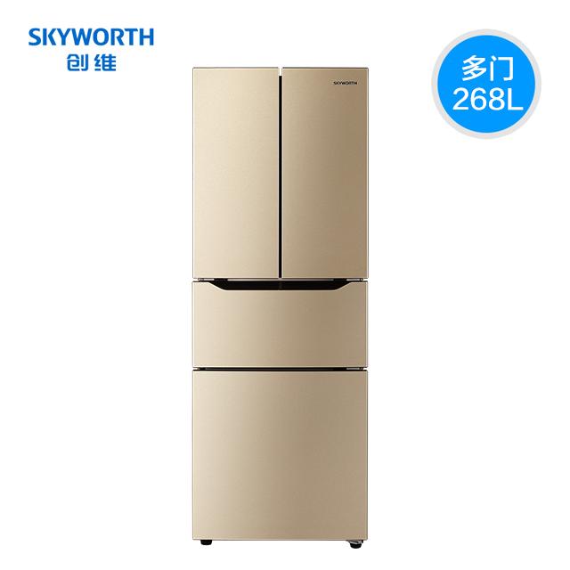Skyworth  创维 BCD-268WY 268L  四门冰箱