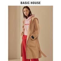 BASIC HOUSE 百家好 HSCA728A 女士羊绒双面呢大衣