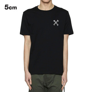 5cm 5厘米 1109S8A 男士印花短袖T恤