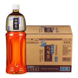 Suntory 三得利 无糖乌龙茶 1250ml*12瓶 *5件