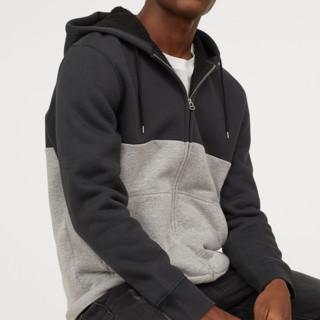 H&M HM0690707 男士加绒里连帽卫衣