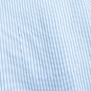 Brooks Brothers 布克兄弟 1000046557 男士长袖Supima棉免烫衬衫 深红色 S