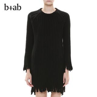 b+ab 7W0350J 女士纯色针织连衣裙