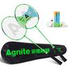 Agnite 安格耐特 F2100 羽毛球拍套装 对拍 赠3球+拍包 16元(需用券)