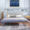 酣美床 北欧床 日式实木床双人床现代小户型实木家具卧室婚床1.8米橡木床 1660元