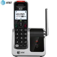 AT&T CRL51102BK 数字无绳电话机座机单机子母机家用座机办公固定无线电话 黑色