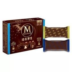 迷你梦龙 香草口味+松露巧克力口味 冰淇淋组合 6支装 255g