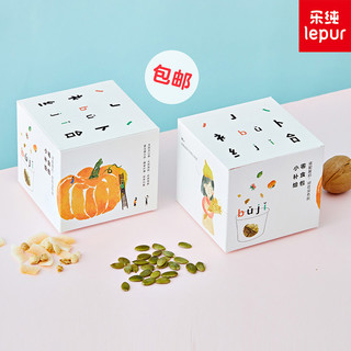 LEPUR 乐纯 水果坚果麦片 15g*20包 4盒