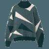 素缕 HS8364 2018冬季新款 女士复古高领毛衣