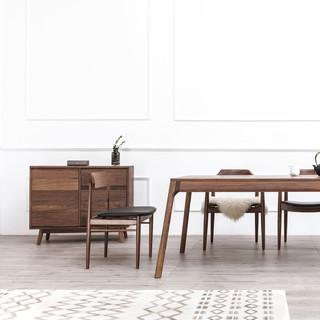 及木家具 YZ036 北欧简约进口餐椅