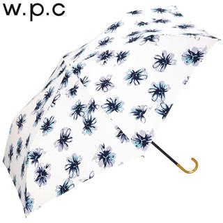 w.p.c 287-017 金色手柄格子三折晴雨伞 花蕊款mini475-018