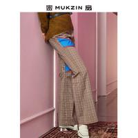 MUKZIN 密扇 MUKZIN女侠系列 P7197601 男士微喇休闲裤