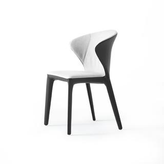 MZGF 木智工坊 M62 布艺皮质靠背椅子