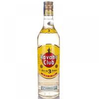 历史低价:Havaianas 哈瓦那 哈瓦那俱乐部 3年陈酿 朗姆酒 700ml