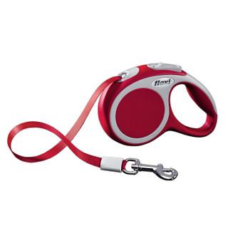 FLEXI 福莱希 外星人 宠物牵引绳 带状 3m 红色 XS