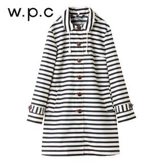 w.p.c R-1098 女士水手条纹款风雨衣