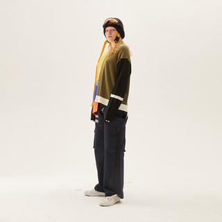 YOUPPIE! YAWN307002 女士直筒休闲工装裤