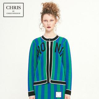 Chris by Christopher Bu卜柯文 A18EA21 女士mono条纹针织开衫