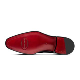 ThomWills 威世 C081 男士手工定制固特异职业西装皮鞋