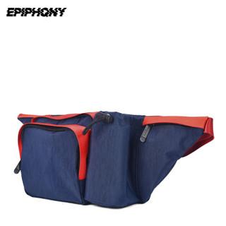 EPIPHQNY 53002 男子防水腰包 红蓝色