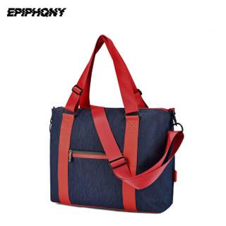 EPIPHQNY 52061 男子多功能防水单肩包 红蓝色