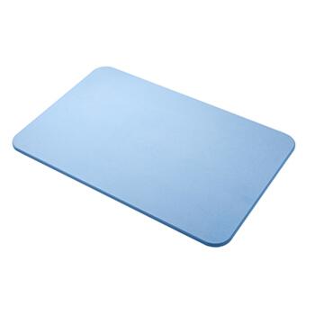 家居卫生间浴室厨房吸水防滑速干硅藻泥地垫垫子 蓝色 大号