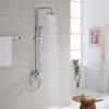 法恩莎卫浴增压淋浴花洒套装家用浴室卫生间挂墙式明装淋浴器全铜 379元(需用券)