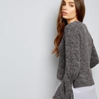 NEW LOOK 510910104 女士喇叭袖针织衫