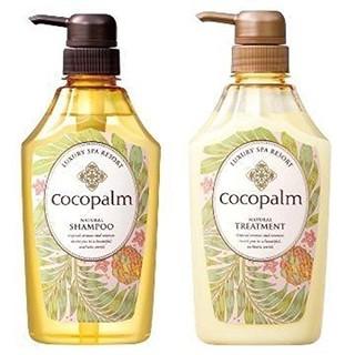 cocopalm 洗发护发套装(无硅油洗发600ml+护发600ml)