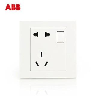 ABB AH225 墙壁开关插座