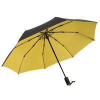 MAYDU 美度 M3321 全自动三折晴雨伞  黄色