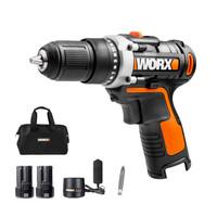 WORX 威克士 WX128.7 12伏锂电钻双电版