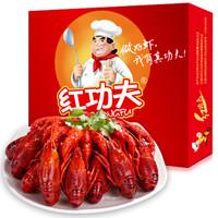 红功夫 小龙虾 17-22只 7-9钱 麻辣味 净虾750g