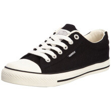 WARRIOR 回力 WXY45 中性帆布鞋 黑色 35码