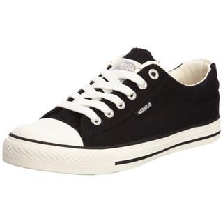 WARRIOR 回力 WXY45 中性帆布鞋 黑色 43码