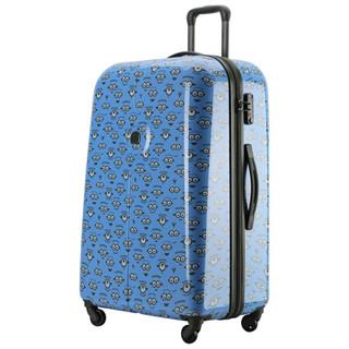 DELSEY 法国大使 625 小黄人拉杆箱 24英寸 混合蓝色