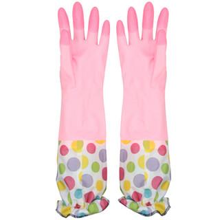 KLM 快乐猫 清洁家务橡胶手套