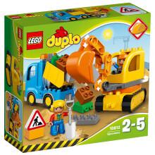 LEGO 乐高 得宝系列 10812 卡车和挖掘车套装