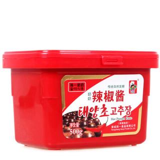 韩一奶奶 韩式辣酱 炒年糕酱 500g