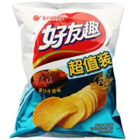 Orion 好丽友 休闲零食 薯片 好友趣多汁牛排味125g/袋 *13件
